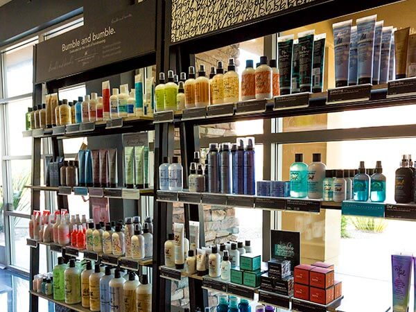 Bumble and Bumble hair products at The Hair Standard in Las Vegas.