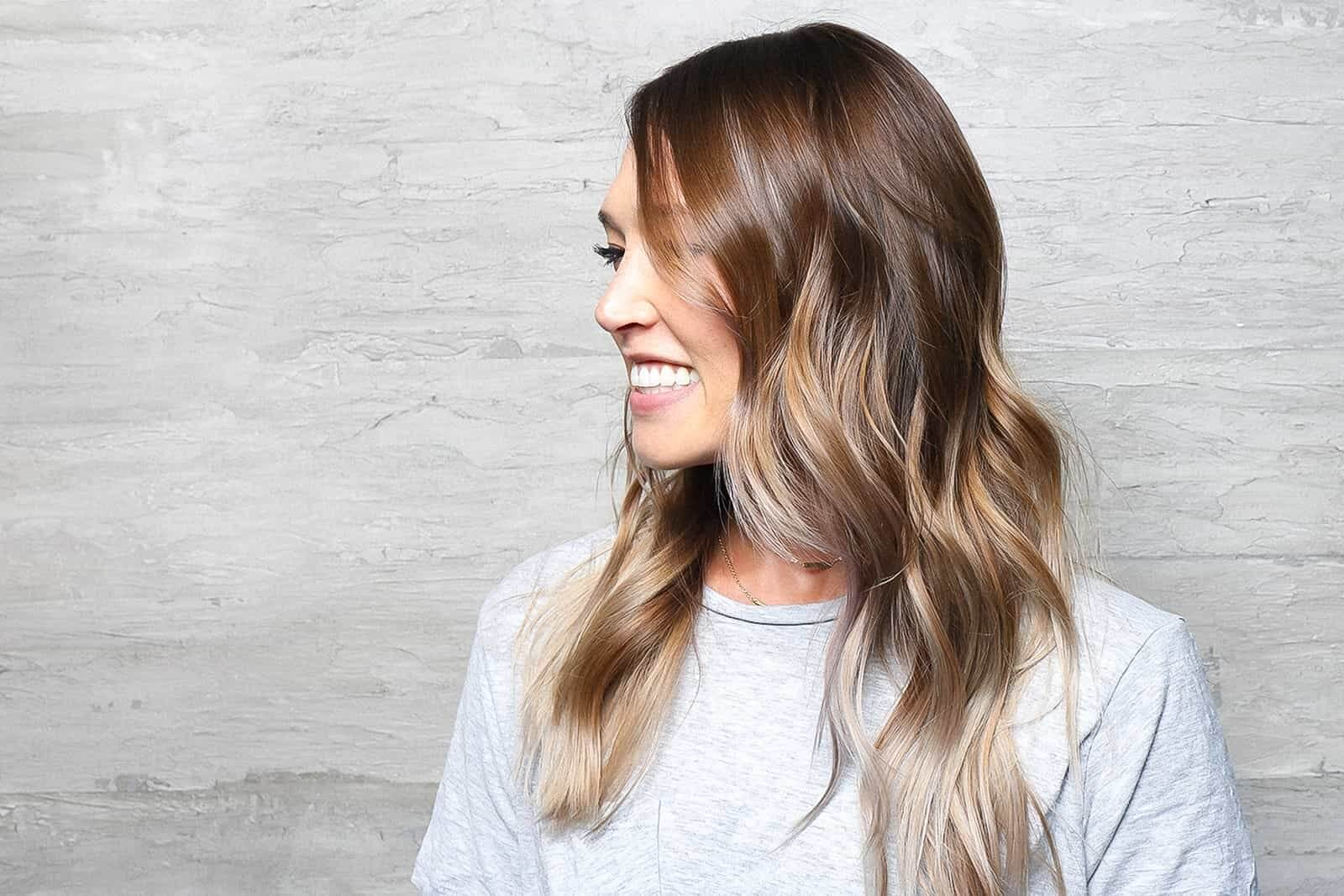 Balayage Sunkissed Highlights