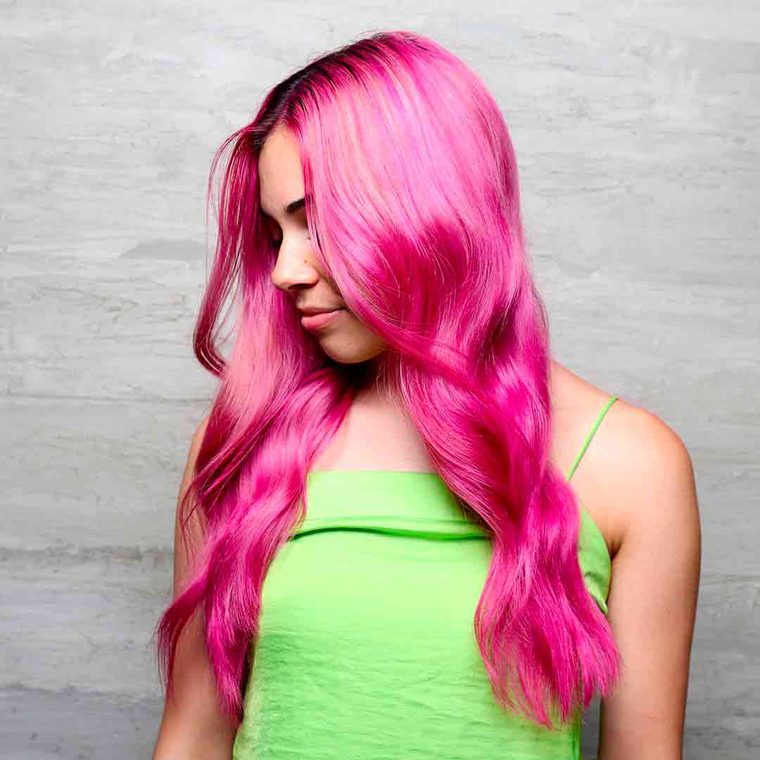 pink hair the hair standard las vegas