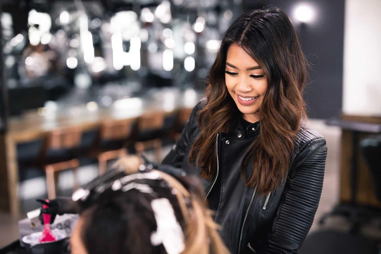 Hair stylist Marienne Elad.