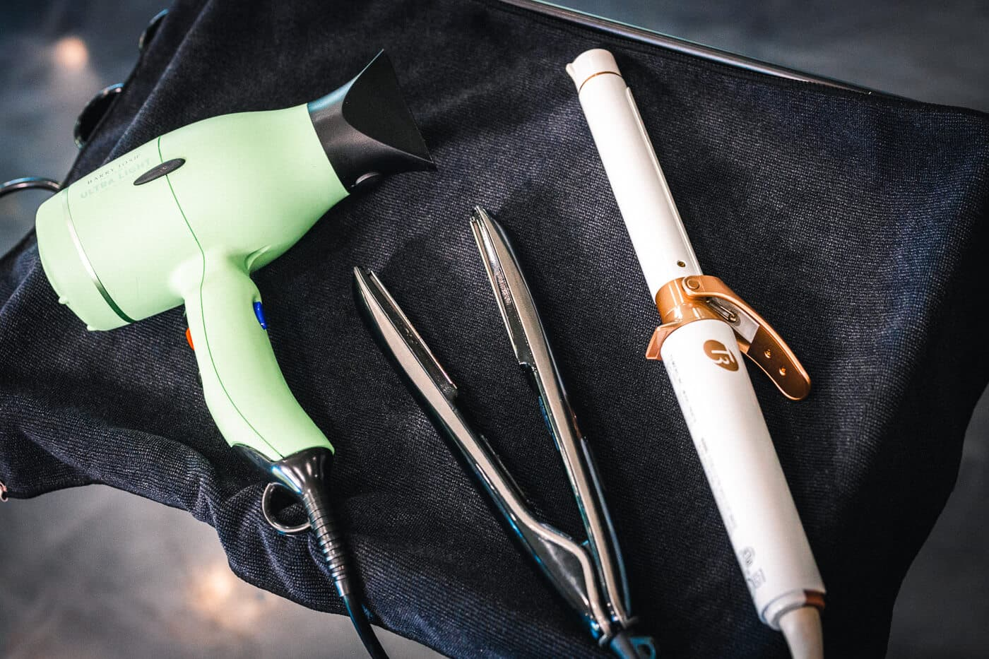 Heatless texture styling tools