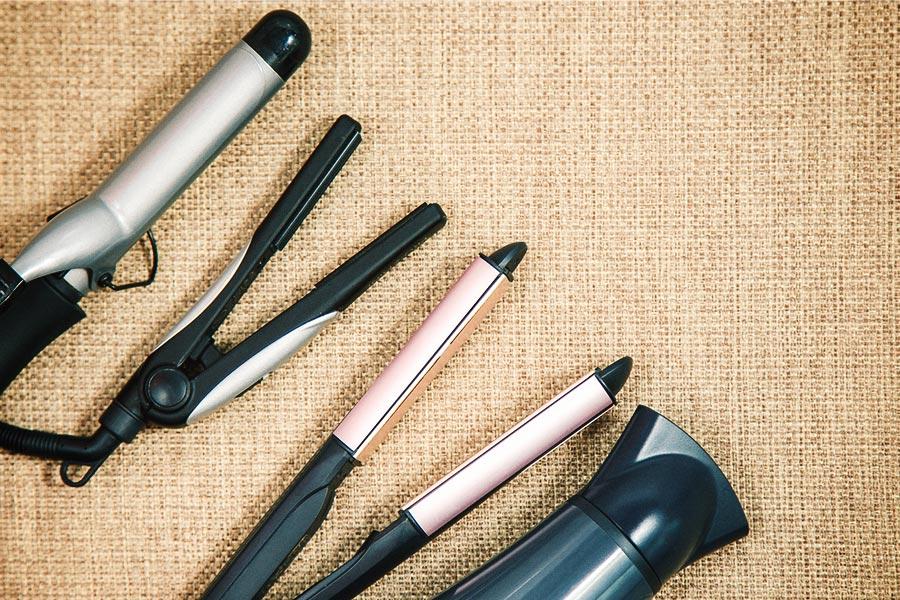How to treat summer hair heat tools