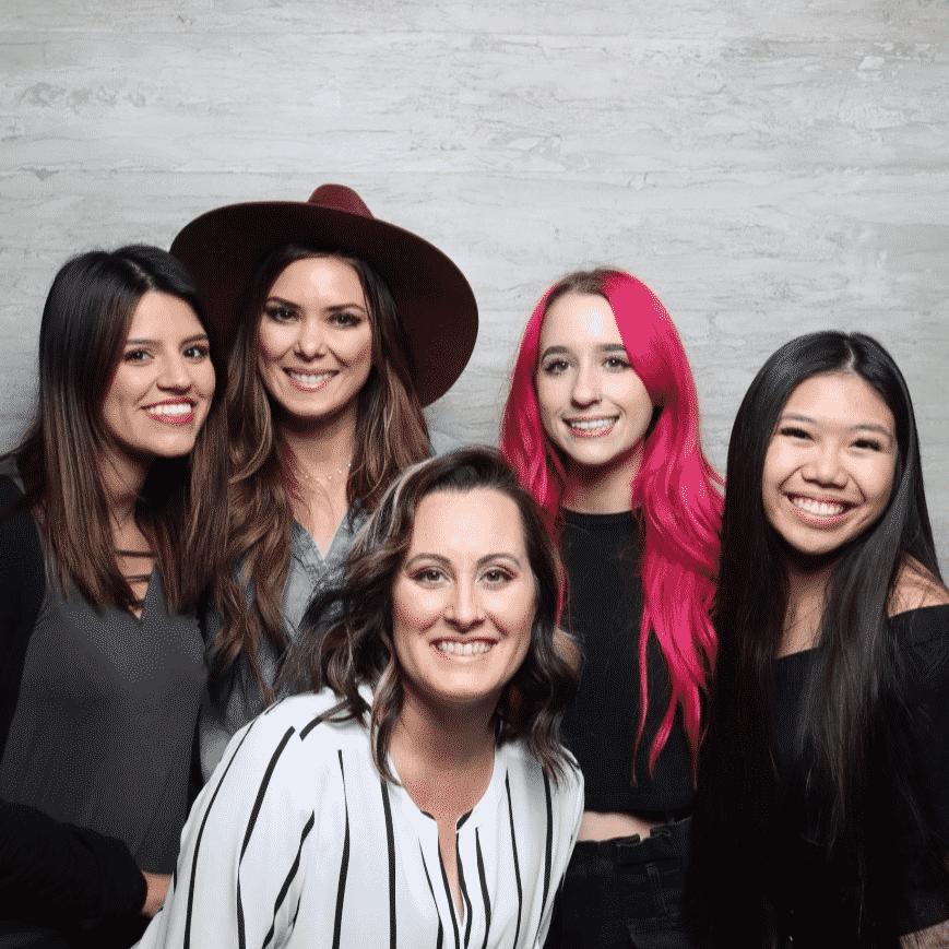 Cherry Tortosa The Hair Standard Las Vegas with mentor