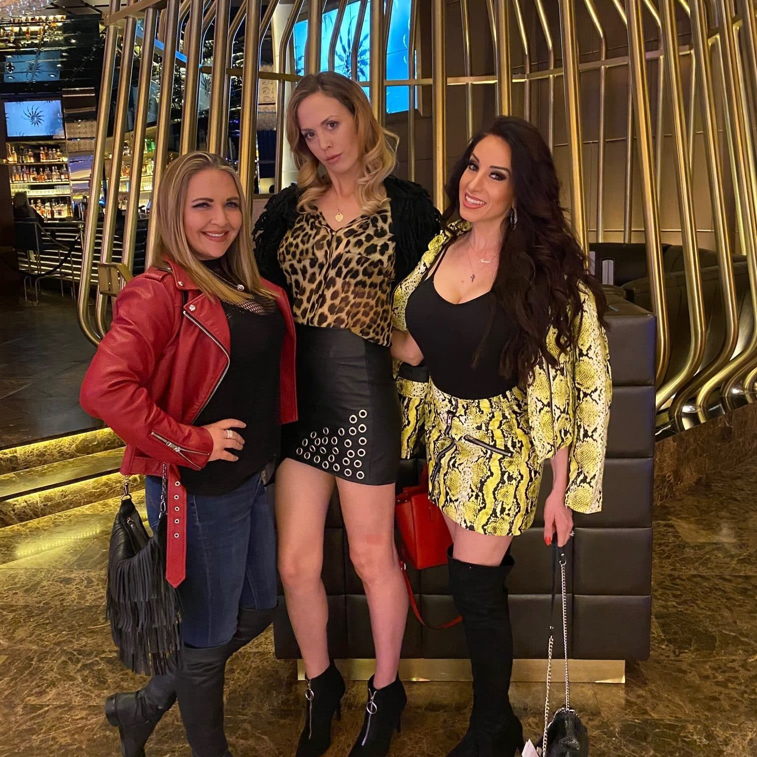 Amanda Stanely The Hair Standard Las Vegas friends