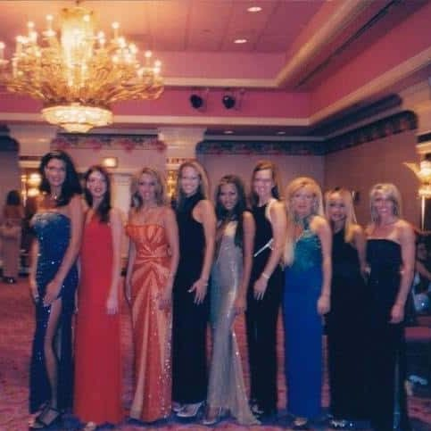 Amanda Stanely The Hair Standard Las Vegas with her friends